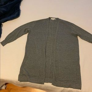 Madewell Cardigan, Grey, summer 2016 collection